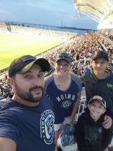 Josh attended Philadelphia Union vs. DC United - MLS on Jul 17th 2021 via VetTix