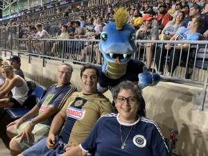 E.T.H. attended Philadelphia Union vs. DC United - MLS on Jul 17th 2021 via VetTix