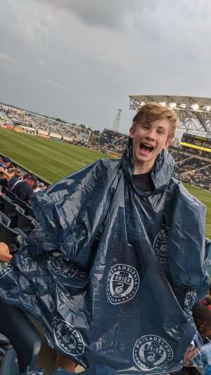 JE attended Philadelphia Union vs. DC United - MLS on Jul 17th 2021 via VetTix