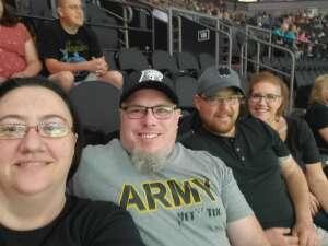 Tim attended Arizona Rattlers vs. Sioux Falls Storm on Jul 24th 2021 via VetTix