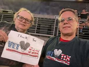 Rich attended Arizona Rattlers vs. Sioux Falls Storm on Jul 24th 2021 via VetTix