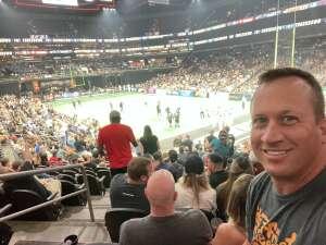J M attended Arizona Rattlers vs. Sioux Falls Storm on Jul 24th 2021 via VetTix