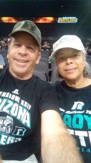 Paul attended Arizona Rattlers vs. Sioux Falls Storm on Jul 24th 2021 via VetTix