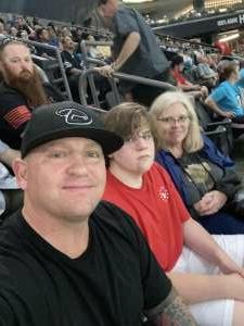 Jeremy Ross attended Arizona Rattlers vs. Sioux Falls Storm on Jul 24th 2021 via VetTix