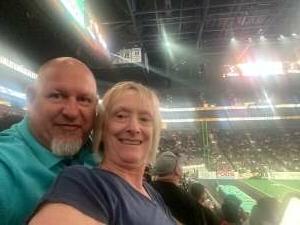 Bear attended Arizona Rattlers vs. Sioux Falls Storm on Jul 24th 2021 via VetTix