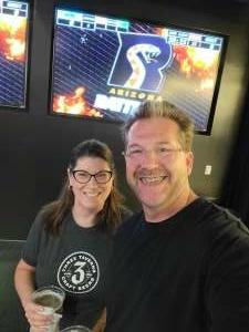 Dale attended Arizona Rattlers vs. Sioux Falls Storm on Jul 24th 2021 via VetTix