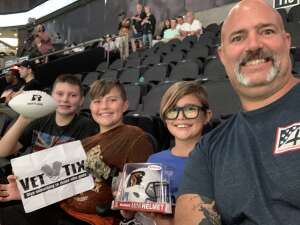 Jeremy attended Arizona Rattlers vs. Sioux Falls Storm on Jul 24th 2021 via VetTix