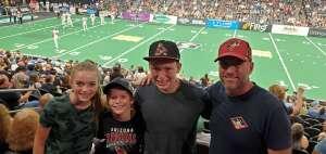 Sean attended Arizona Rattlers vs. Sioux Falls Storm on Jul 24th 2021 via VetTix