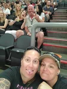 Heather attended Arizona Rattlers vs. Sioux Falls Storm on Jul 24th 2021 via VetTix