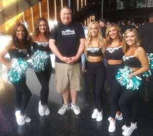 Eddie attended Arizona Rattlers vs. Sioux Falls Storm on Jul 24th 2021 via VetTix