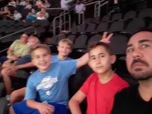 Rob attended Arizona Rattlers vs. Sioux Falls Storm on Jul 24th 2021 via VetTix