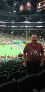 Rick attended Arizona Rattlers vs. Sioux Falls Storm on Jul 24th 2021 via VetTix