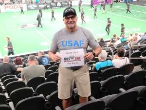 Hank attended Arizona Rattlers vs. Sioux Falls Storm on Jul 24th 2021 via VetTix
