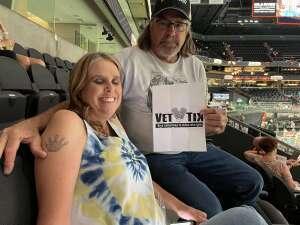 Scott attended Arizona Rattlers vs. Sioux Falls Storm on Jul 24th 2021 via VetTix