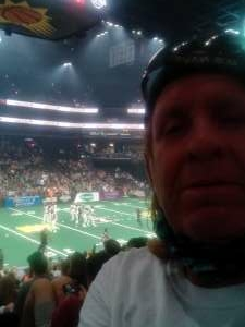Timothy Pena  attended Arizona Rattlers vs. Sioux Falls Storm on Jul 24th 2021 via VetTix
