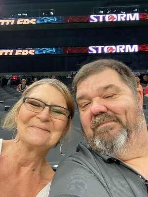Marton attended Arizona Rattlers vs. Sioux Falls Storm on Jul 24th 2021 via VetTix