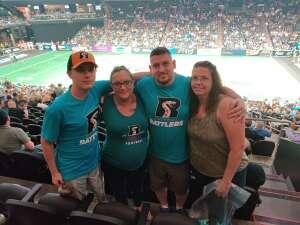 Eric attended Arizona Rattlers vs. Sioux Falls Storm on Jul 24th 2021 via VetTix