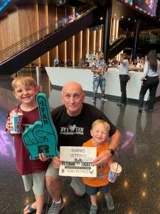 Bob attended Arizona Rattlers vs. Sioux Falls Storm on Jul 24th 2021 via VetTix