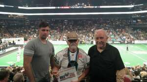 Jim Rakoci attended Arizona Rattlers vs. Sioux Falls Storm on Jul 24th 2021 via VetTix