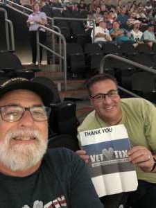Greg  attended Arizona Rattlers vs. Sioux Falls Storm on Jul 24th 2021 via VetTix