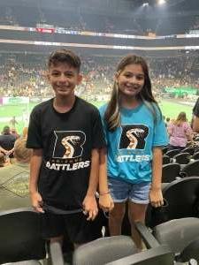 Alex attended Arizona Rattlers vs. Sioux Falls Storm on Jul 24th 2021 via VetTix