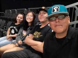 Yellowman attended Arizona Rattlers vs. Sioux Falls Storm on Jul 24th 2021 via VetTix