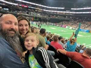POPS attended Arizona Rattlers vs. Sioux Falls Storm on Jul 24th 2021 via VetTix