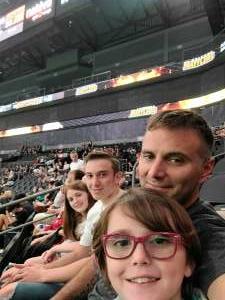 TDRTFL attended Arizona Rattlers vs. Sioux Falls Storm on Jul 24th 2021 via VetTix
