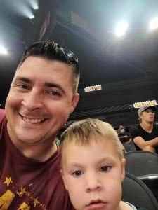 Patrick attended Arizona Rattlers vs. Sioux Falls Storm on Jul 24th 2021 via VetTix