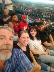 Steve Smith attended Arizona Rattlers vs. Sioux Falls Storm on Jul 24th 2021 via VetTix