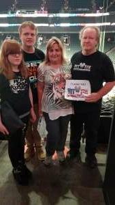Bruce  attended Arizona Rattlers vs. Sioux Falls Storm on Jul 24th 2021 via VetTix