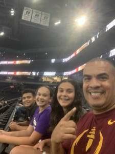 Ortiz attended Arizona Rattlers vs. Sioux Falls Storm on Jul 24th 2021 via VetTix