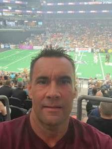 Bill attended Arizona Rattlers vs. Sioux Falls Storm on Jul 24th 2021 via VetTix
