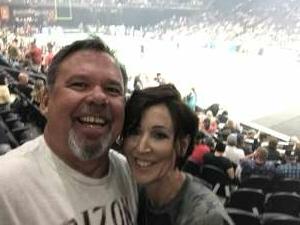 Kelly attended Arizona Rattlers vs. Sioux Falls Storm on Jul 24th 2021 via VetTix