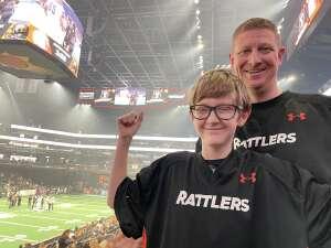 Calley L attended Arizona Rattlers vs. Sioux Falls Storm on Jul 24th 2021 via VetTix