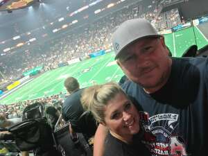 S. Valentine attended Arizona Rattlers vs. Sioux Falls Storm on Jul 24th 2021 via VetTix