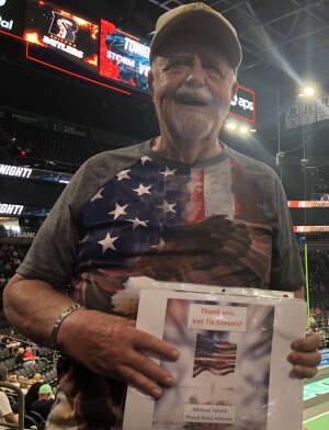 Mike T attended Arizona Rattlers vs. Sioux Falls Storm on Jul 24th 2021 via VetTix