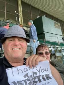Bill S attended Belmont Stakes: July 4th Race Day! on Jul 4th 2021 via VetTix