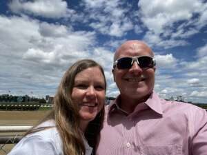 Dave attended Belmont Stakes: July 4th Race Day! on Jul 4th 2021 via VetTix