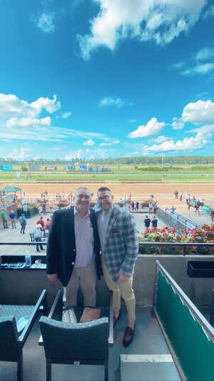 Greg F attended Belmont Park: Stars & Stripes Racing Festival on Jul 10th 2021 via VetTix