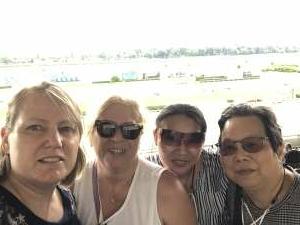 Lisa attended Belmont Park: Stars & Stripes Racing Festival on Jul 10th 2021 via VetTix