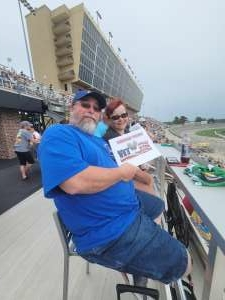 Mitch attended Quaker State 400 Presented by Walmart on Jul 11th 2021 via VetTix