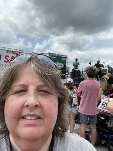 Brenda Hands attended Quaker State 400 Presented by Walmart on Jul 11th 2021 via VetTix
