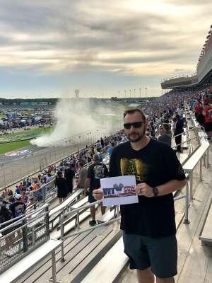 Ryan attended Quaker State 400 Presented by Walmart on Jul 11th 2021 via VetTix