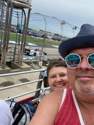 Jeff attended Quaker State 400 Presented by Walmart on Jul 11th 2021 via VetTix