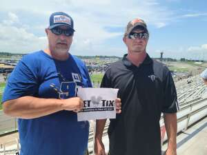 Gerry Wood attended Quaker State 400 Presented by Walmart on Jul 11th 2021 via VetTix