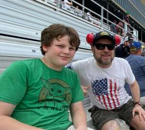 James Mosteller attended Quaker State 400 Presented by Walmart on Jul 11th 2021 via VetTix