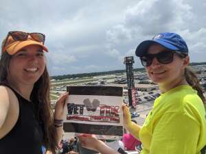 Roberts attended Quaker State 400 Presented by Walmart on Jul 11th 2021 via VetTix