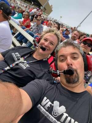 Steve Molo attended Quaker State 400 Presented by Walmart on Jul 11th 2021 via VetTix