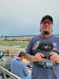 Charley  attended Quaker State 400 Presented by Walmart on Jul 11th 2021 via VetTix